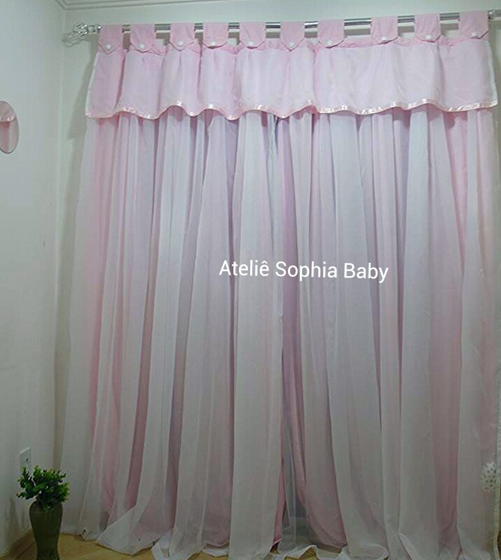Cortina Princesa Real  Ateli Sophia Baby  Elo7