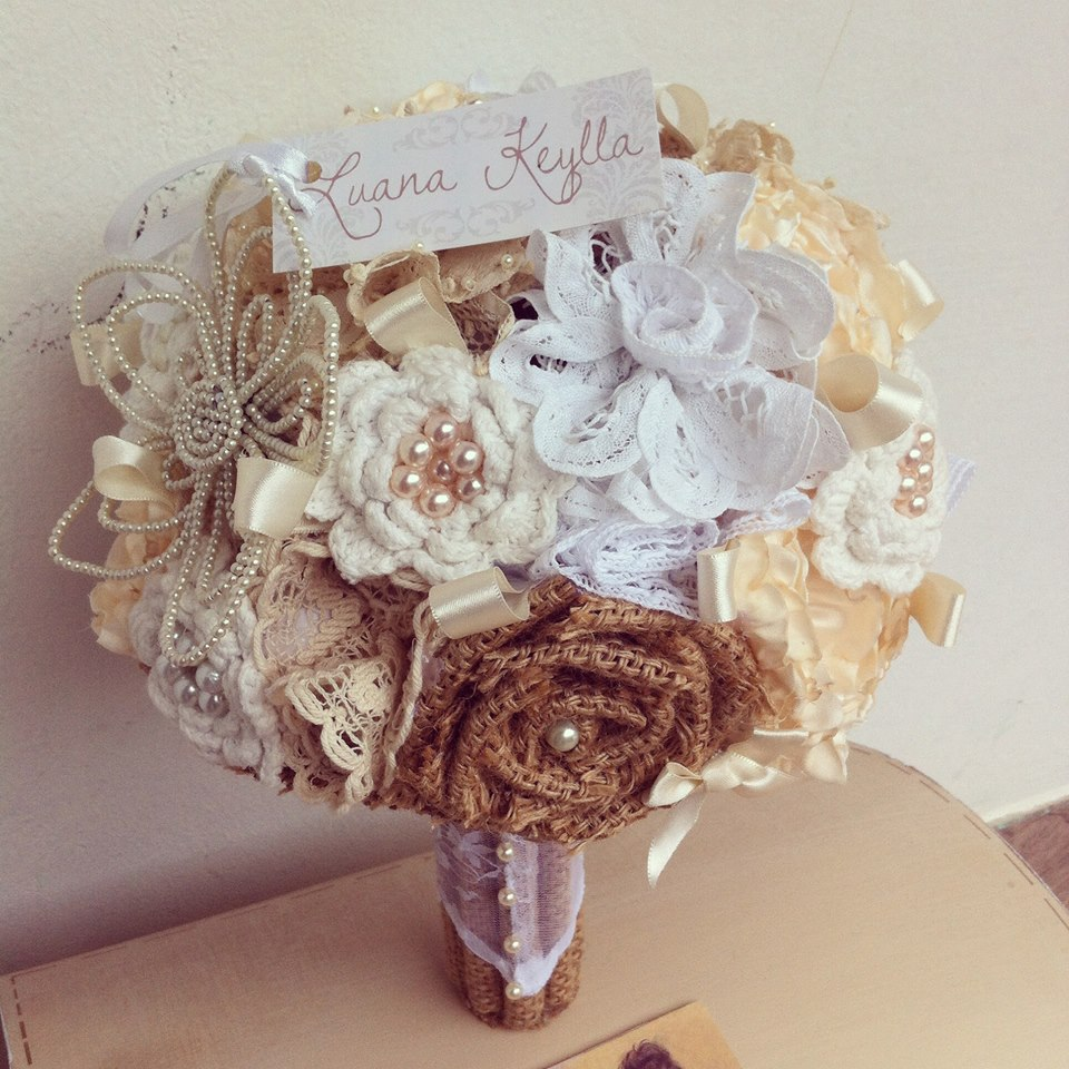 Buqu para noivas Rstico Vintage  Atelier Luana keylla