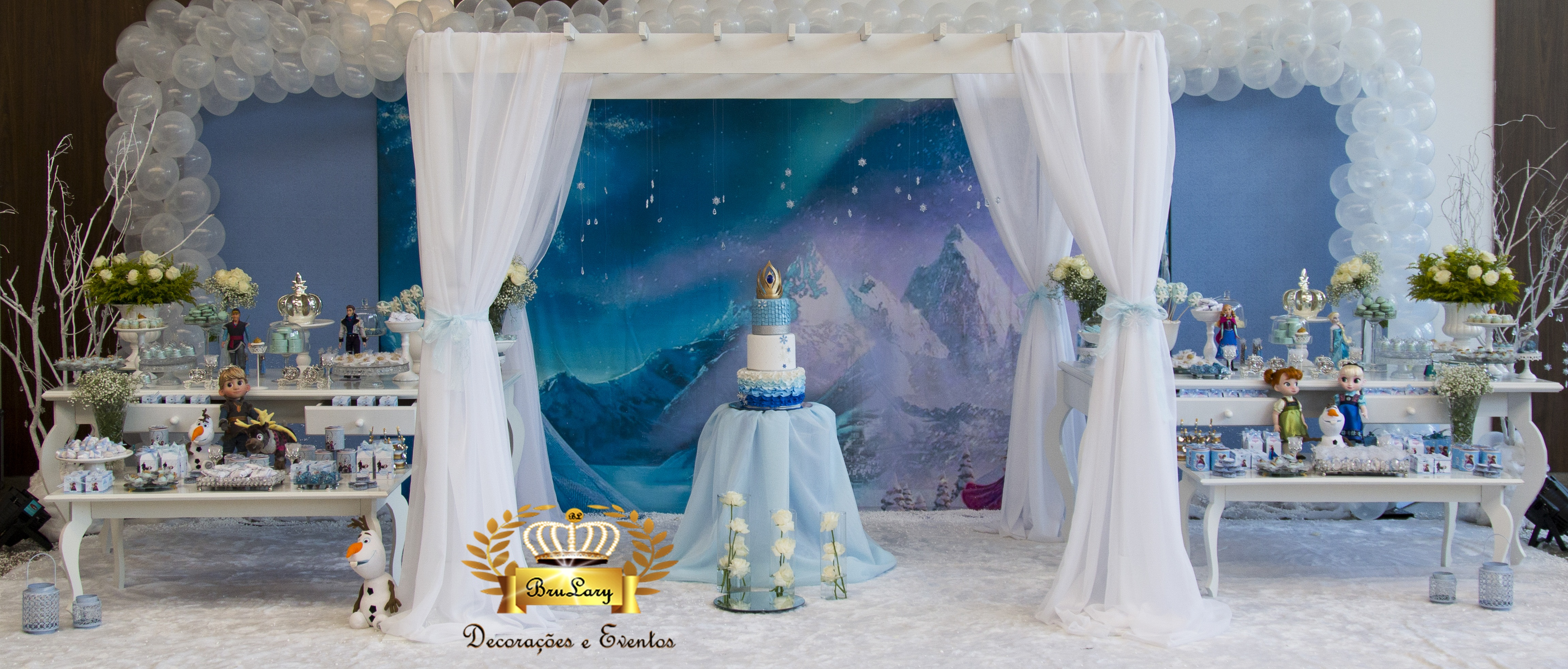 Decorao Frozen _ Para Locao  BruLary Decoraes