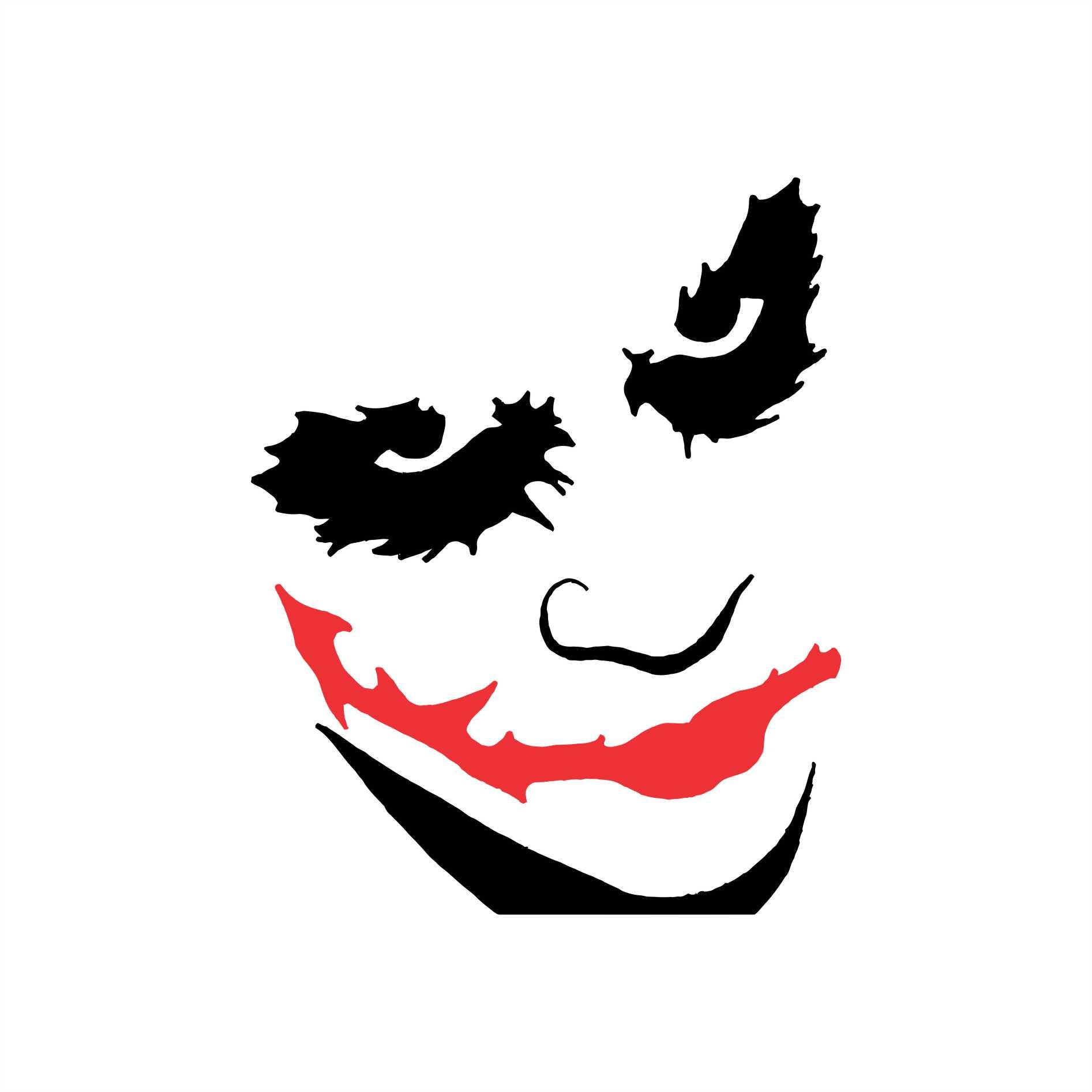 Adesivo Batman Coringa Joker 02 10x8cm