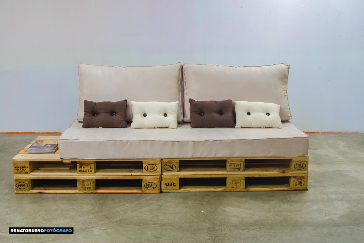 pallet sofa for sale quality sofas midlands completed side view with