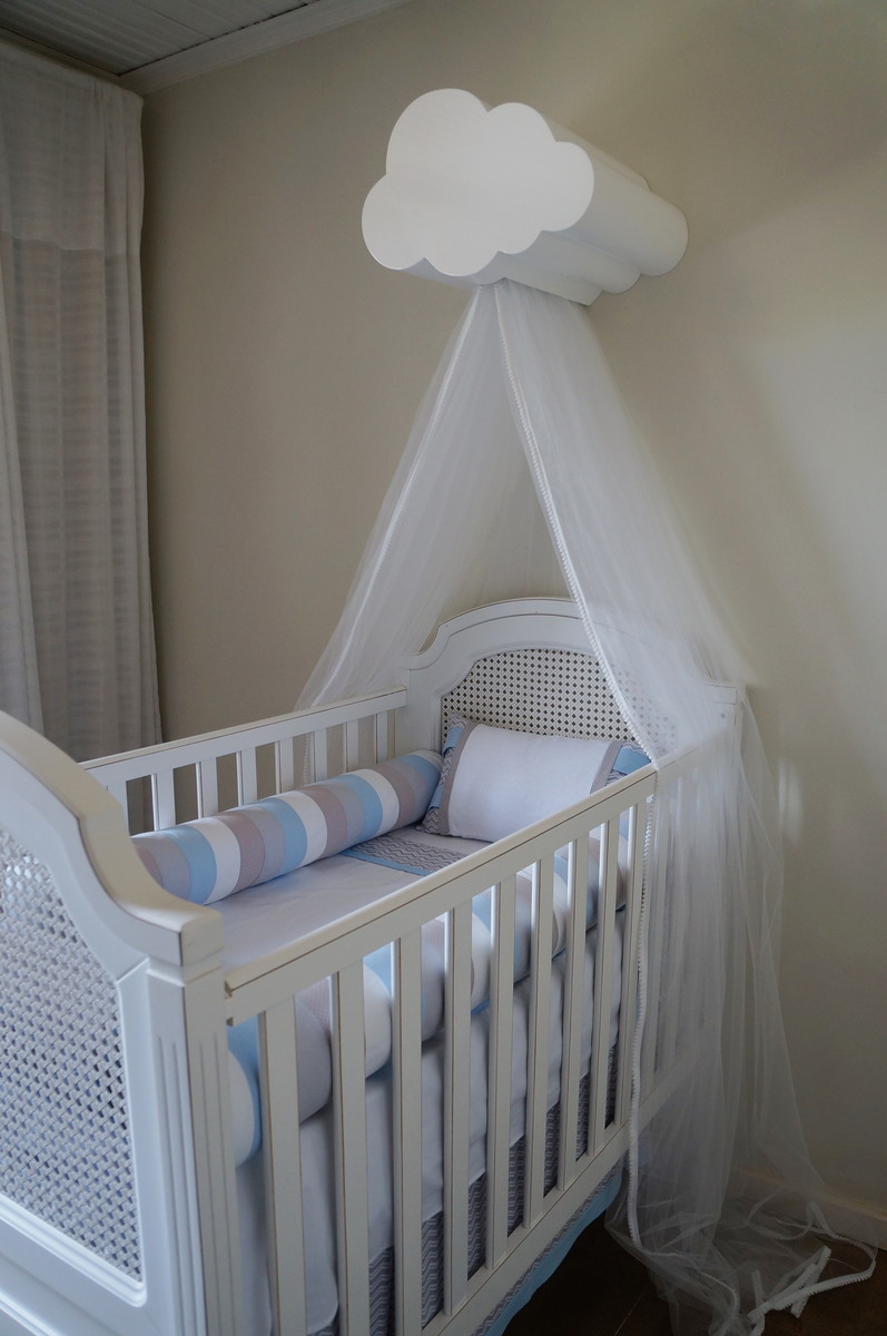 Dossel Nuvem com Luz  Mabless baby  Elo7