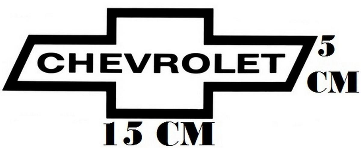 Adesivo Logo Chevrolet Lines Frete Grátis no Elo7