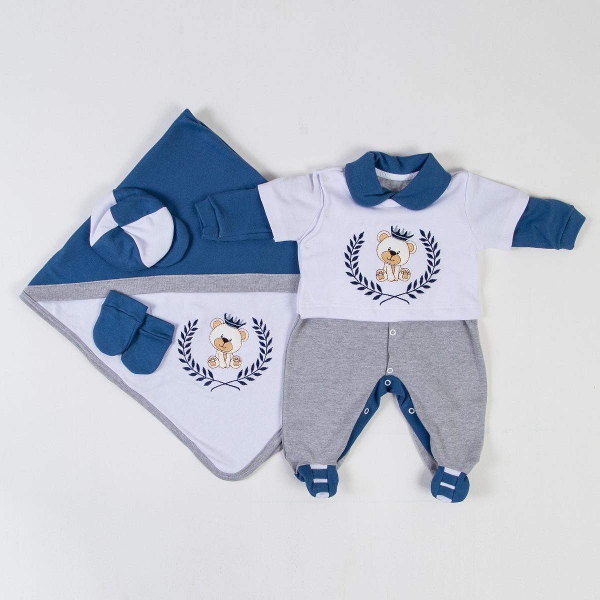 Saída Maternidade para Menino no Elo7 | Loja Baby (CF6190)