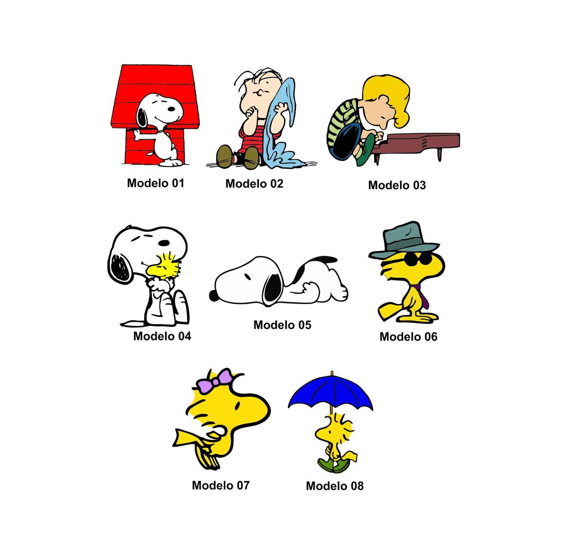 Adesivo Snoopy Peanuts Woodstock Linus Modelos Diversos no Elo7   Power Adesivos (DBD9E5)