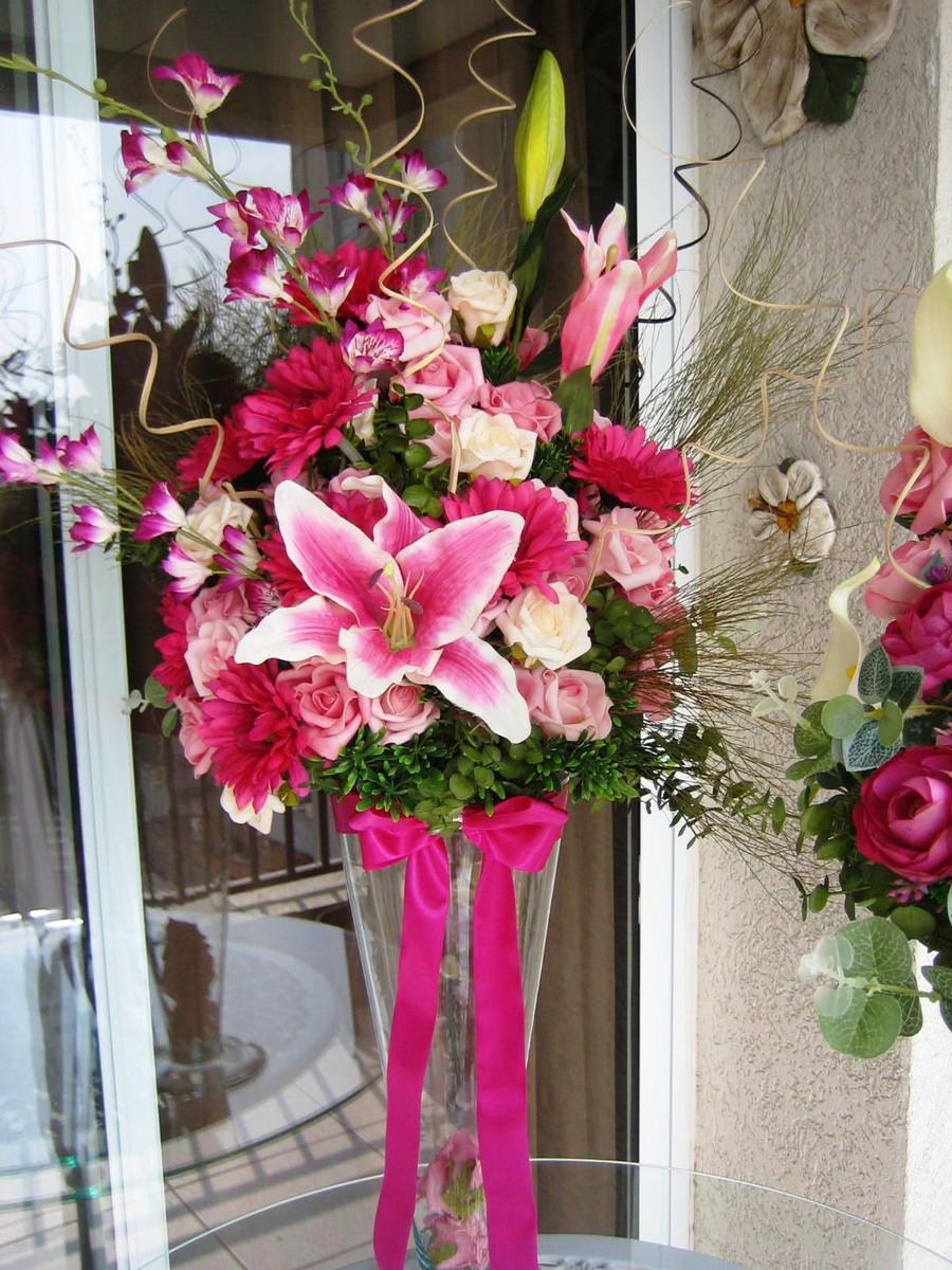 Arranjo Pink para festas I no Elo7  Rosamorena Artes