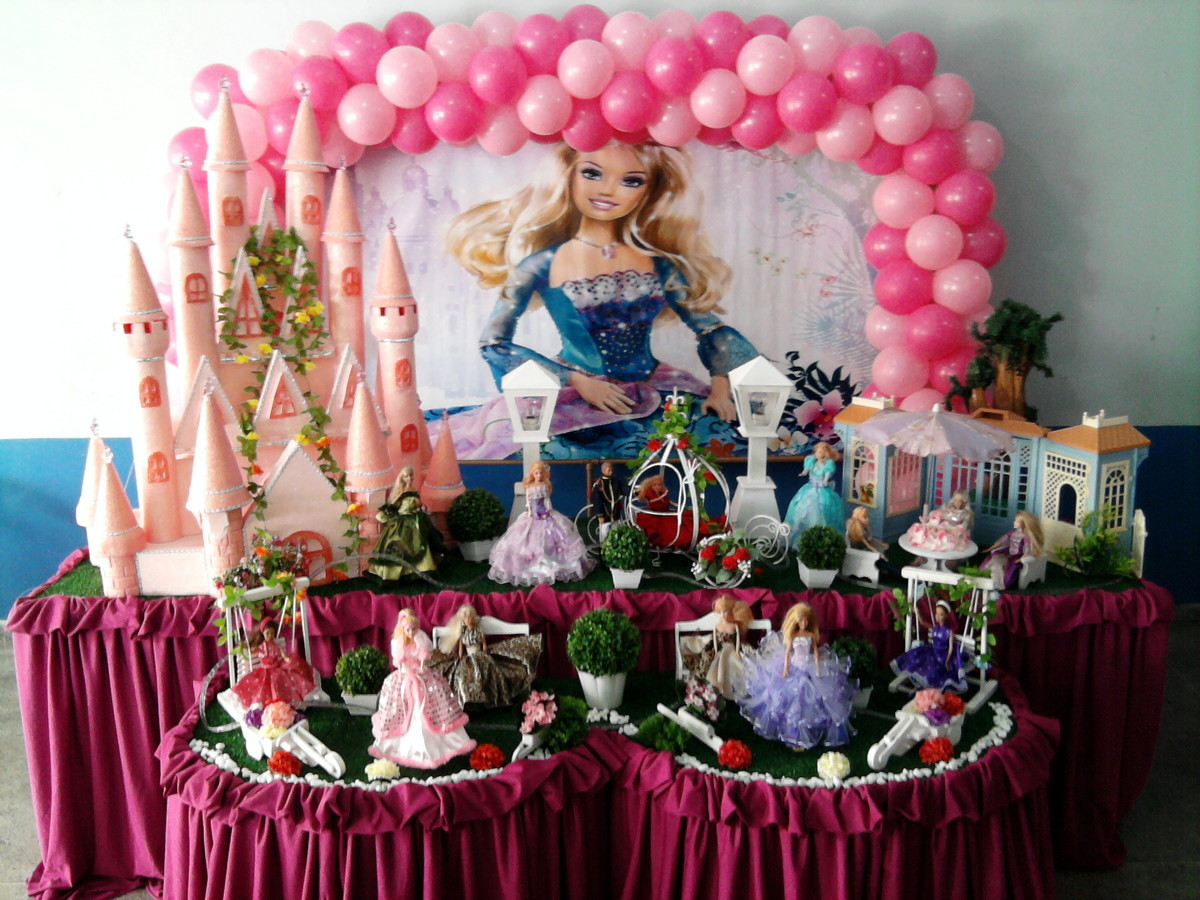 Mesa Temtica Barbie Decorao Barbie no Elo7  Rede