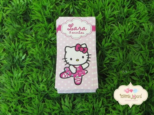 Tulo Para Tubete Kitty Bailarina Elo7