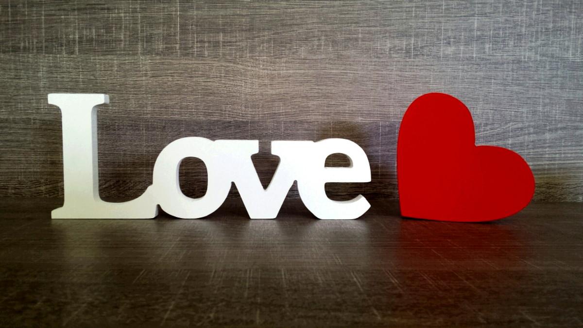 Love Mdf 10 Cm  Corao 12cm no Elo7  Color Mine 3BF552