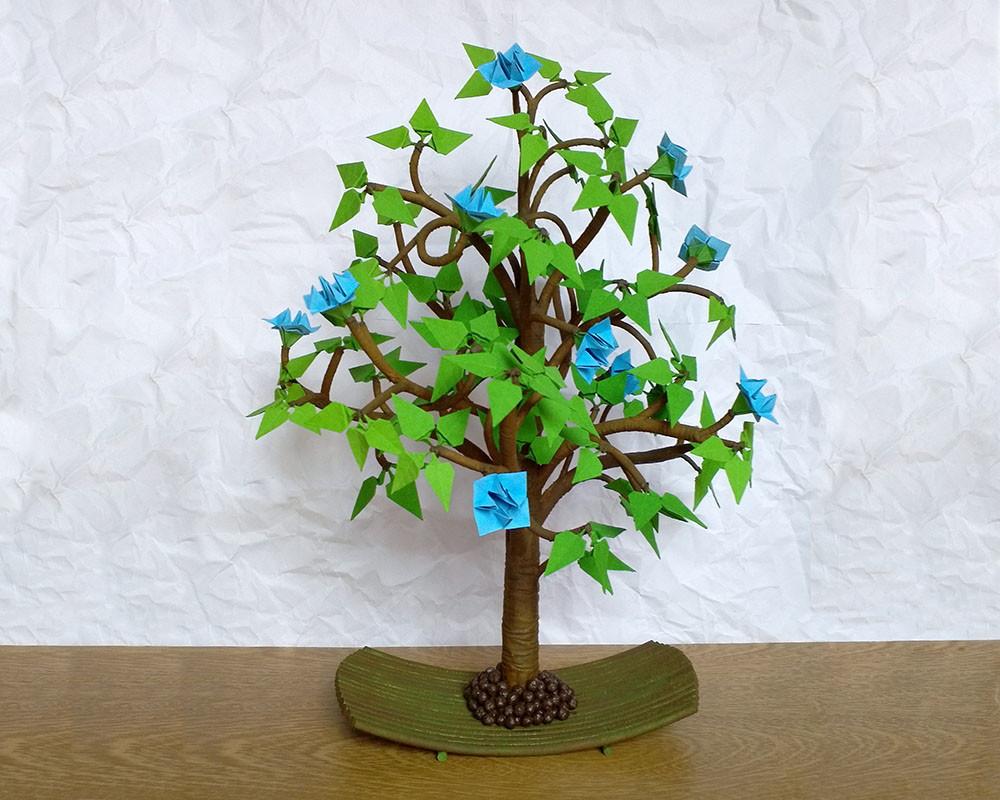 Rvore Em Origami Flores Do Cu No Elo7 Rafael Alves