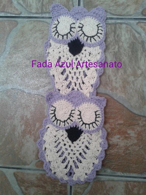 Porta papel higinico coruja dorminhoca no Elo7  Suzi Meire Fada Azul artesanato 6408D6