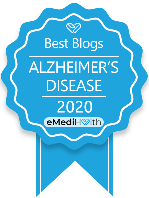 Best Alzheimer's and Dementia Blog Award, 2020 by eMediHealth