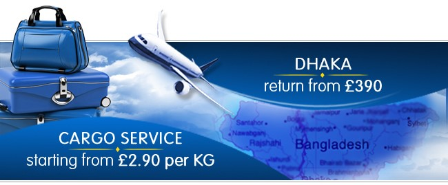 Fly London to Dhaka from only £390