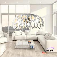 Home Decorative Branch Resin Pendant Lamp Three Lamp ...