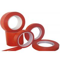 Red Natural Rubber Adhesive Colored Masking Tape For ...