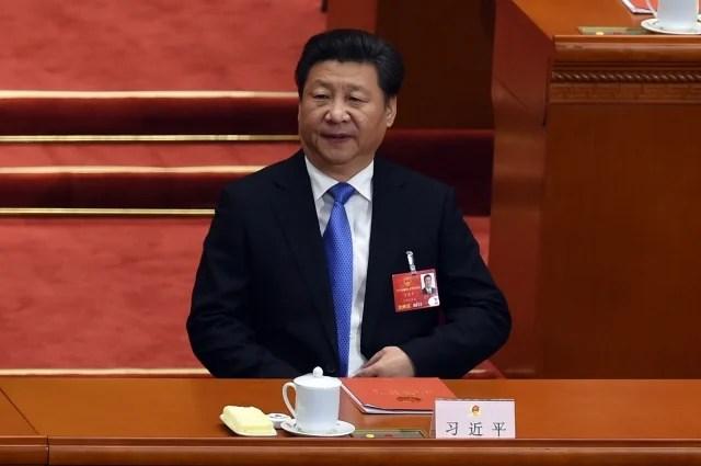 學者認為,中國領導人習近平若直接廢除政治局常委,代表極力弱化「黨」而強化「政府」,此舉意味著中國走向總統制時日將近。(AFP)