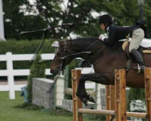 Claire Affleck Training At Skaneateles Equestrian On Equinenow