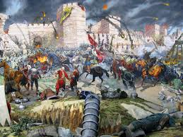 perang meriam