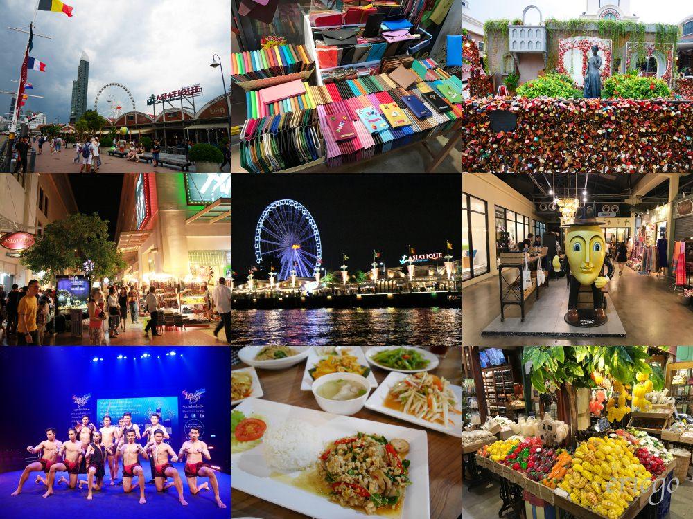 曼谷|Asiatique 河濱夜市 - 美食推薦,交通方式,Muay Thai泰拳表演,曼谷必去! - 艾瑞克 Go