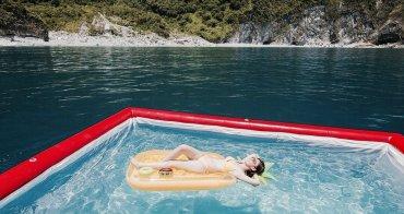 花蓮景點推薦 鯨彩悠活海洋俱樂部-搭遊艇開趴去 海上泳池x獨木舟x太平洋忘憂之旅