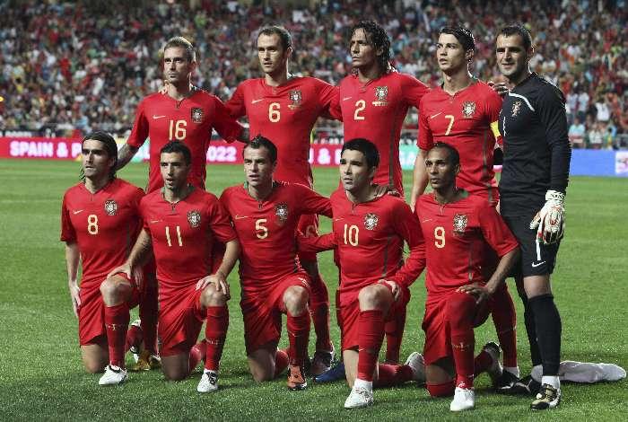 Seleção Portuguesa. O 10 e o 9, figurinhas carimbadas que o Futebol Brasileiro conhece muito bem