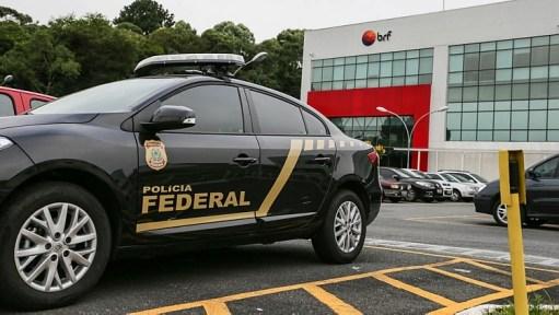 Polícia Federal realiza busca e apreensão na sede da BRF em Curitiba. Foto: Geraldo BUbniak/AGB