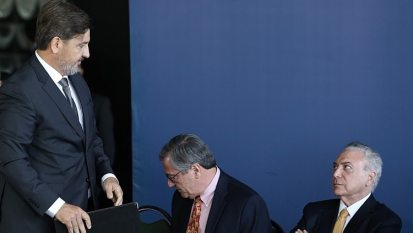 Cerimônia de posso do Fernando Segovia, novo diretor-geral da PF. Foto: Dida Sampaio/Estadão