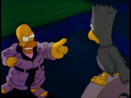 Image result for the raven simpsons