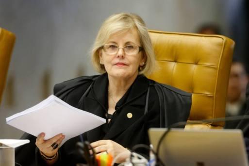 A ministra do STF Rosa Weber