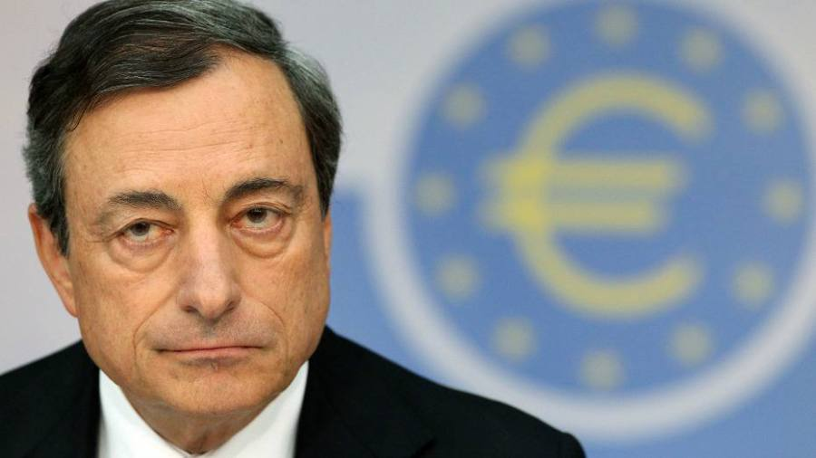 Presidente do Banco Central Europeu, Mario Draghi