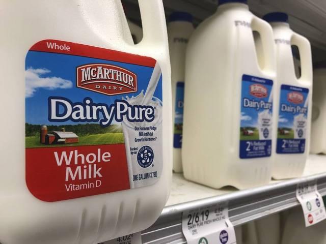 Cai número de consumidores do leite de vaca.