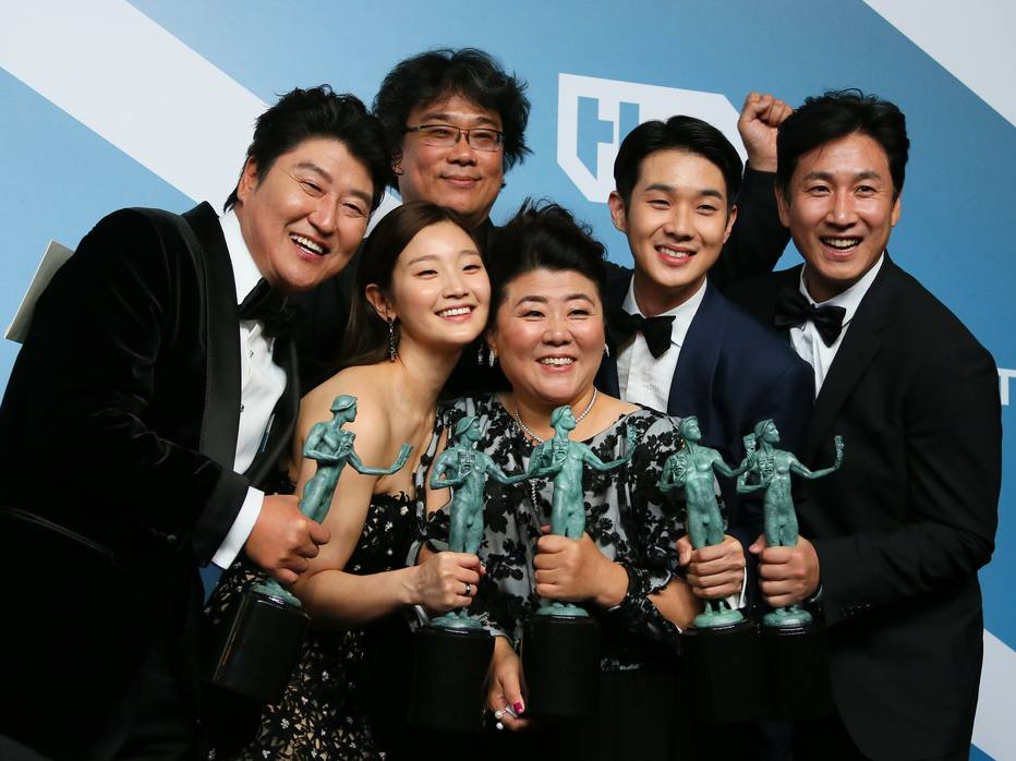 1579517305055 - 'Parasita' vence como melhor elenco no SAG e se prepara para o Oscar