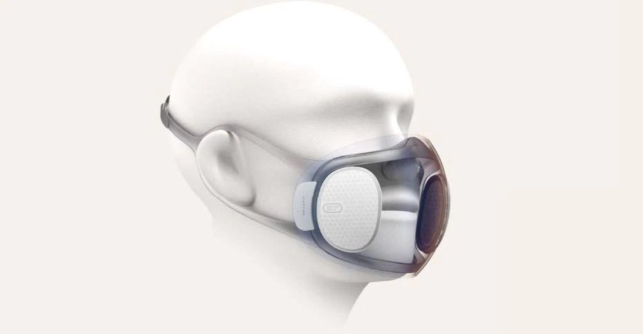 Xiaomi está desenvolvendo máscara inteligente que se desinfeta sozinha - Link - Estadão