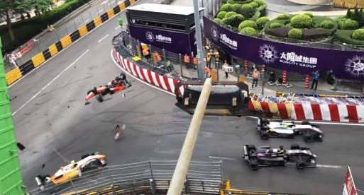 Acidente impressionante na Fórmula 3 choca pilotos experientes