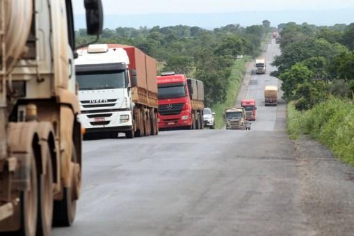 BR163 em Mato Grosso