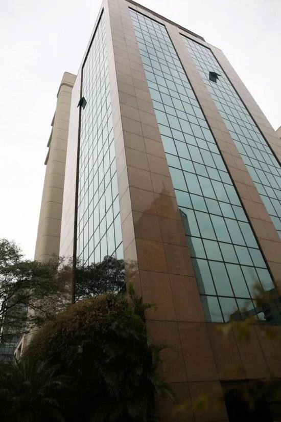 Prédio na zona sul de São Paulo onde Temer tem escritórios