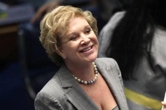 A senadora Marta Suplicy