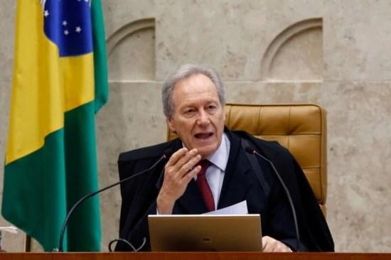 Ministro Ricardo Lewandowski, presidente do STF