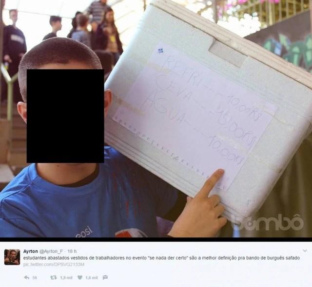 'Se nada der certo': tema de evento escolar gerou críticas