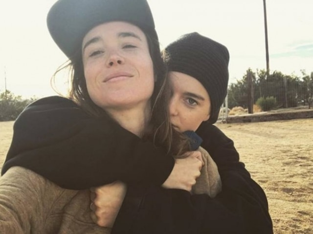 Ellen Page e Emma Porter.