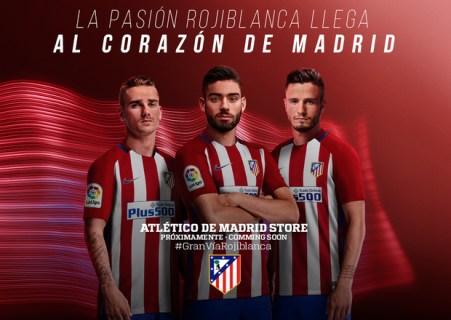 Tienda Atlético de Madrid Gran Vía