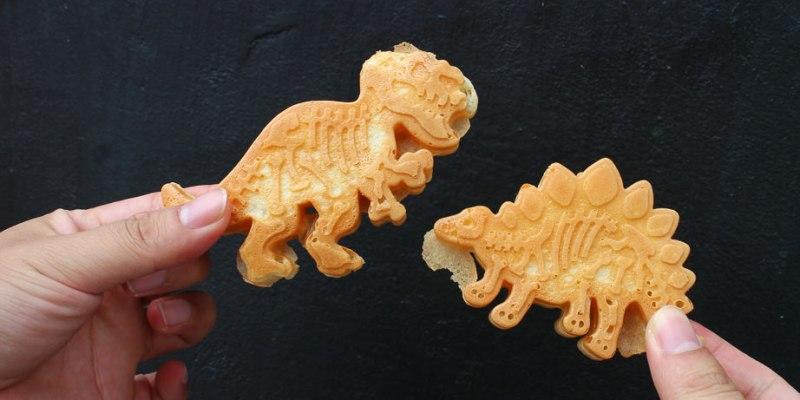 台南 1秒讓你進侏羅紀的恐龍世界x台南雞蛋糕沒有極限! 台南市中西區|蛋黃哥雞蛋糕