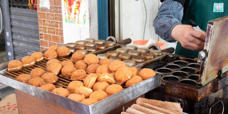 台南 台南北區下午微餓人氣雞蛋糕,來份吃起來香香甜甜的加了蜂蜜的雞蛋糕吧! 台南市北區|阿堯師雞蛋糕