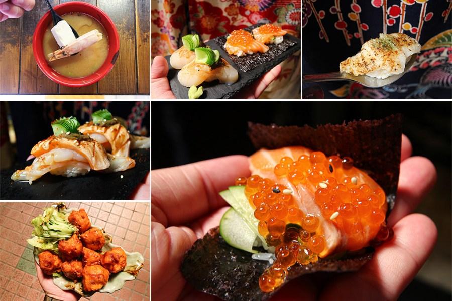 台南 深藏新營第一市場的美味日式料理,食材層次堆疊調和讓人難忘 台南市新營區 鮨阜