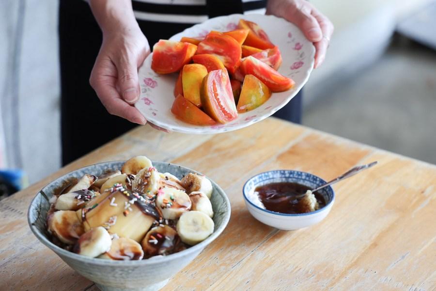 台南 新營將近60年的老冰菓室,餐後來上一盤南部特有的薑汁番茄切盤,小時候回憶的懷舊好滋味 台南市新營區|美美冰品果汁部