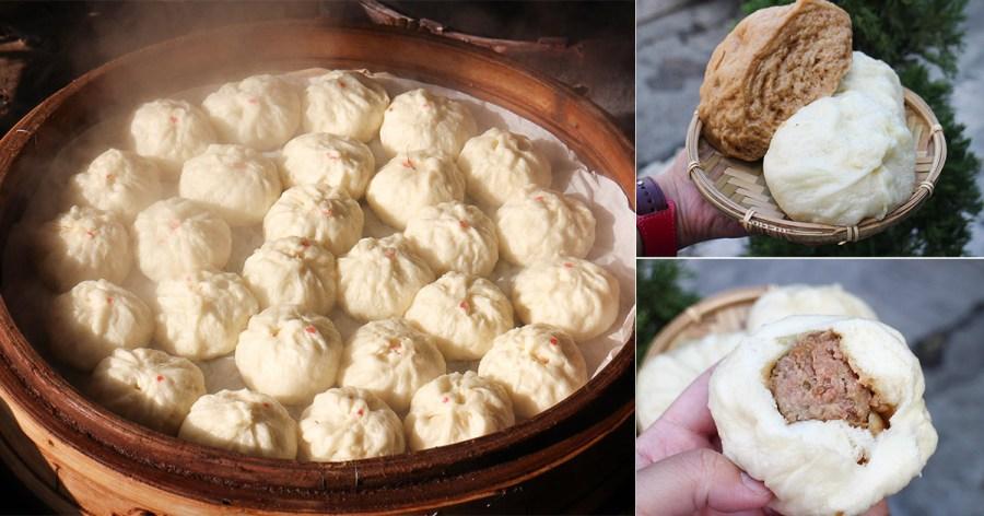 台南 新化在地40年,外皮蓬鬆透著Q韌,肉餡更是讓人心醉的新化肉包饅頭店 台南市新化區|黃記饅頭包子