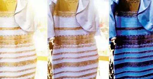 black blue or gold