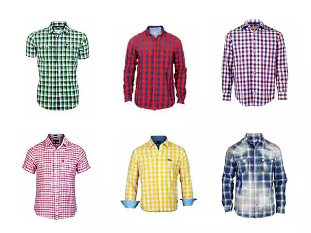 new trend in mens fashion is to go back to big checkered shirts