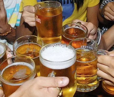 heavy beer sales in andhra