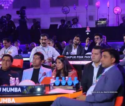 pro kabaddi league 2019 auction is done